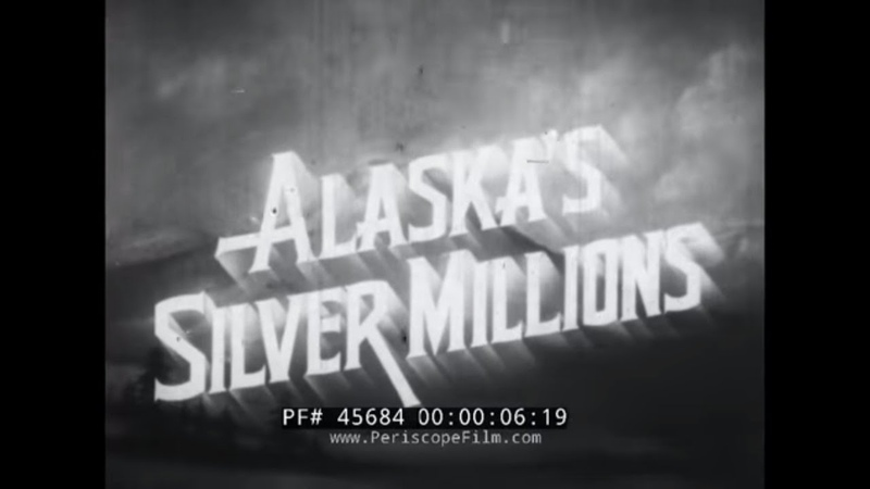 ALASKA'S SILVER MILLIONS LIFE CYCLE OF THE SALMON w FATHER BERNARD HUBBARD GLACIER PRIEST 45684