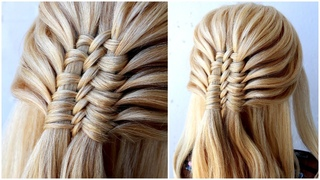Easy Braid Tutorial | new hairstyle for wedding and party || trending hairstyle || party