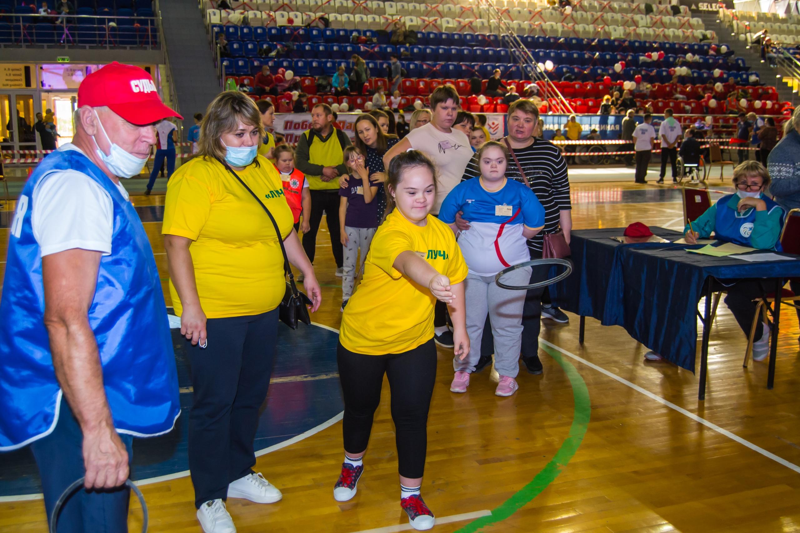 фестиваль спорта для детей-инвалидов, чайковский район, 2020 год