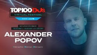 Alexander Popov live for the #Top100DJs Virtual Festival, in aid of Unicef