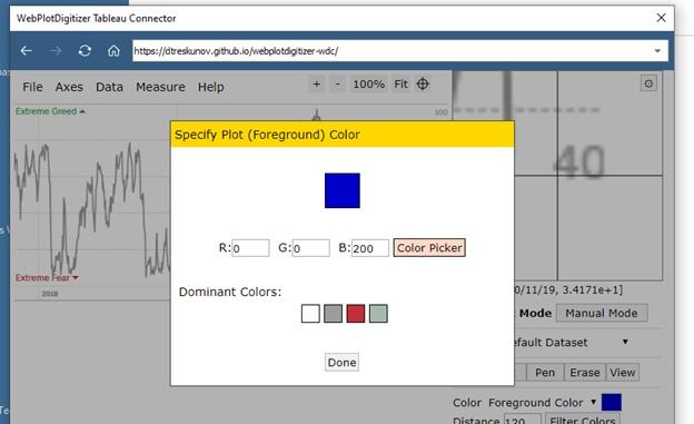 Извлечение данных из графиков при помощи Tableau Web Data Connector (WDC) на примере анализа индекса страха и жадности (Fear and Greed Index), изображение №17