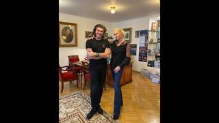 Николай Цискаридзе и Анастасия Волочкова.Экскурсия по АРБ с лучшим экскурсоводом (3 марта 2021)
