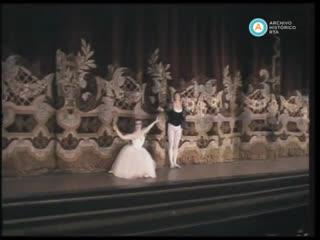 Giselle- Julio Bocca - Silvia Bazilis- Teatro  Colón- Buenos Aires- 1987