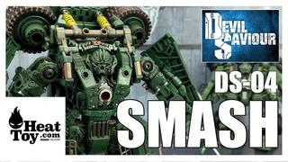 Devil Saviour DS-04 SMASH Third Party Transformers Revenge Of The Fallen LONG HAUL Review