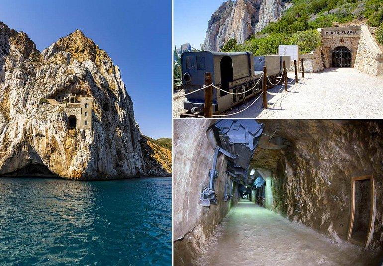 Порто Флавия - уникальная шахта на Сардинии, изображение №4