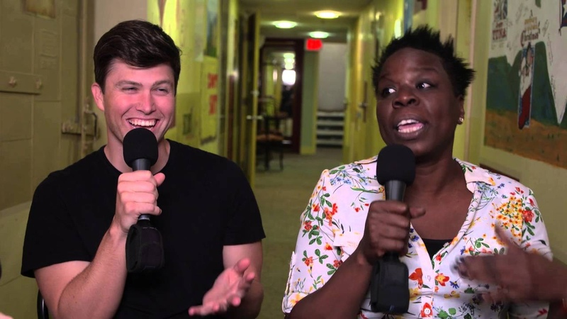 Leslie Jones Colin Jost's First Time 2016 Moontower Comedy Festival in Austin TX