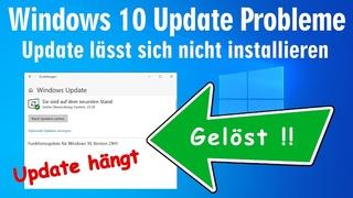 Windows 10 Update Probleme 🔥️ hängt und lässt sich nicht installieren 🔥️ Fehler