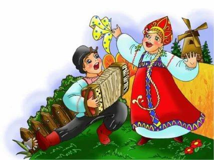 Частушки русские народные музыка