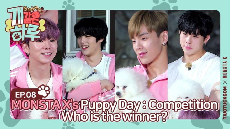 [YT][01.08.2019][Monsta X's Puppy Day] Ep.8 (ENG SUB)
