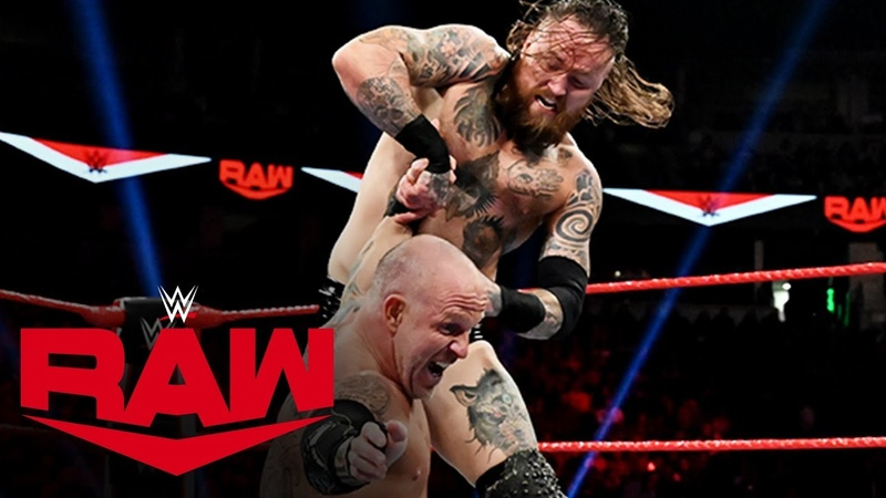Aleister Black vs. Eric Young Raw, Oct. 14, 2019
