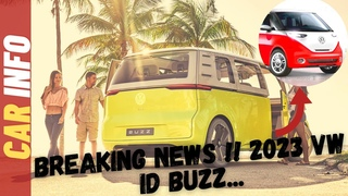 HOT NEWS!! 2023 VW Id Buzz - Bummer Bus? Volkswagen's Id Buzz Electric Microbus Delayed Until 2023