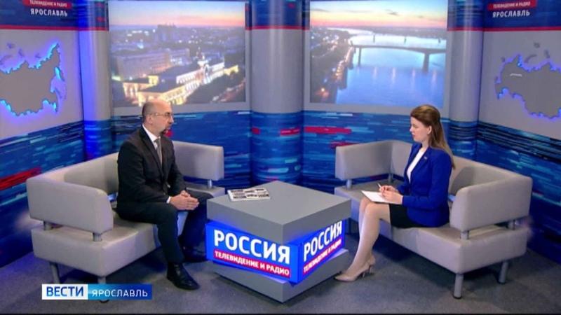 Вести интервью О сохранности архивного фонда Ярославской области с Евгением Гузановым от 2 12 2020