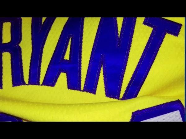 Баскетбольная форма Nike NBA Los Angeles Lakers №24 Kobe Bryant city edition магазин Basket Family