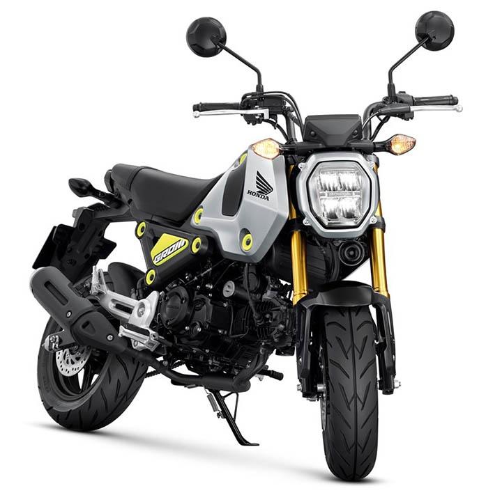 Минибайк Honda Grom (MSX125) 2021: 5 скоростей и больше мощности