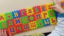 Учим Марки машин Изучаем буквы от А до Я Обучающее видео для детей