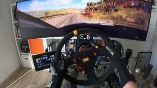 CRAZY SPEED #2 - DIRT Rally 2.0 - Audi S1 WRX - High End Full Motion Simracing Simulator