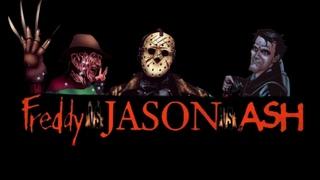 FREDDY vs JASON vs ASH comic film 2020