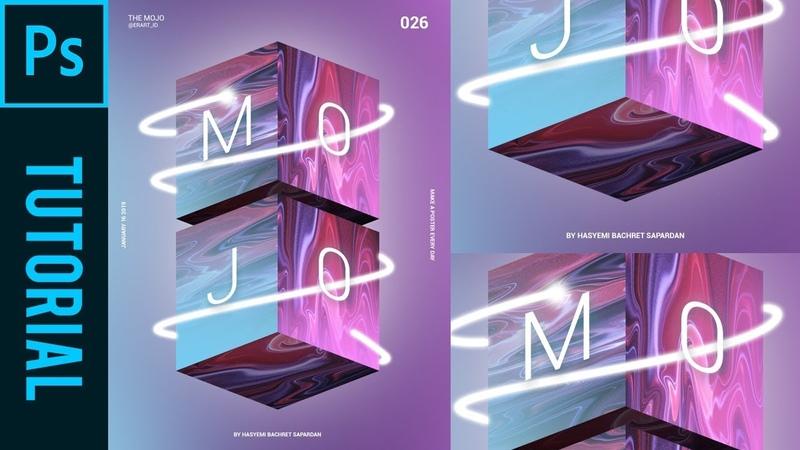 The Mojo Box ala Magdiel Lopez Tutorial Photoshop CC 2019