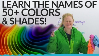 Improve Your Vocabulary: 50+ Shades of Colors in English!