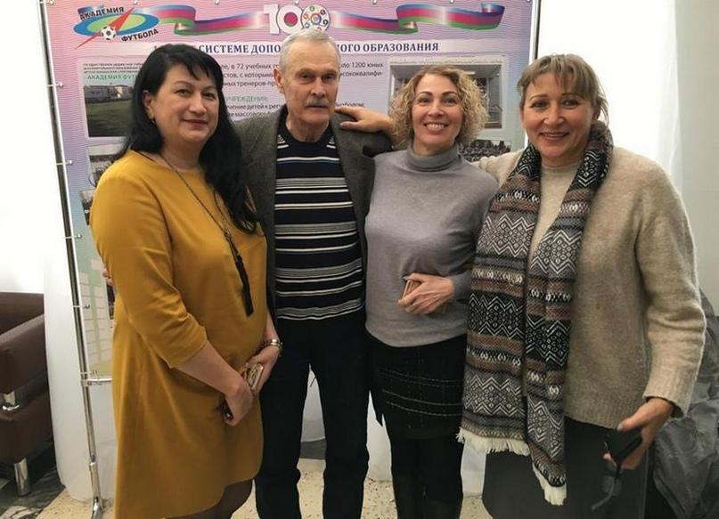 С Галиной Тян, Галиной Оноприенко и Натальей Цыганковой