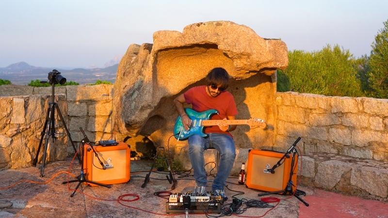 Perry Frank Ambient Guitar XLIV Landscape 17 Castello di Enas