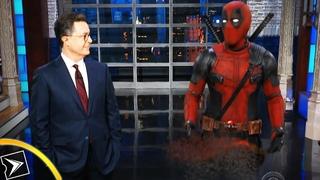 Танос убил Дэдпула на американском телешоу | Киноклипы
