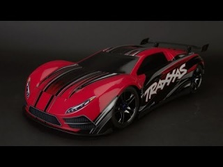 Traxxas XO-1 - World's Fastest Ready-To-Race Supercar now with ProGraphix body. 100+mph top speed!