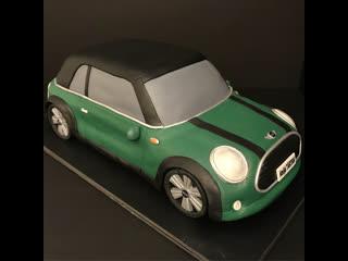 """Как сделать торт mini cooper. / наша группа в  """"торты на заказ. мировые шедевры""""."""