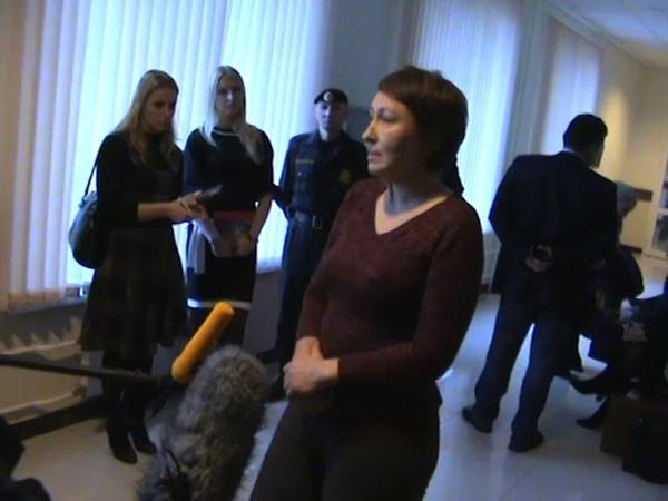 Интервью Барышевой про Кремль в арбитражном суде 09 11 11