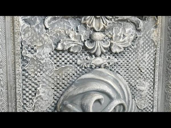 Сделаем Барельеф Венецианская маска