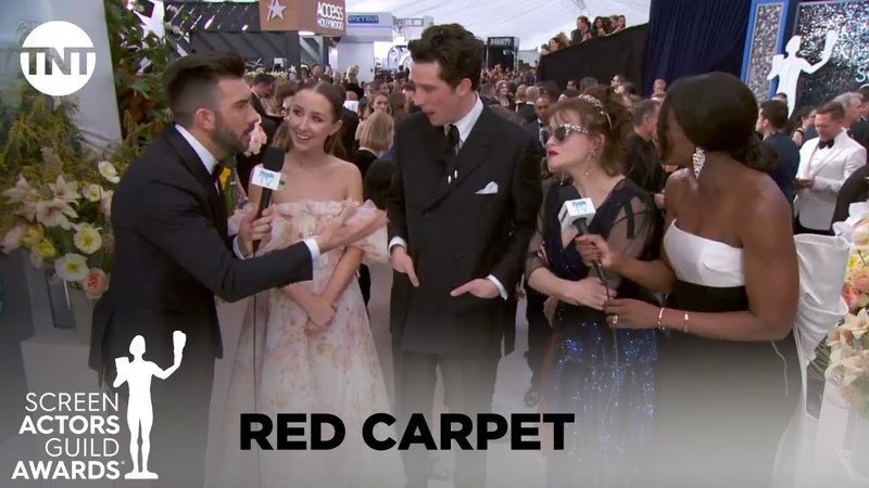 Cast of The Crown: Red Carpet Interview | 26th Annual SAG Awards | TNT