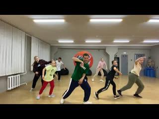 Hip-hop routine / Staj Stomp