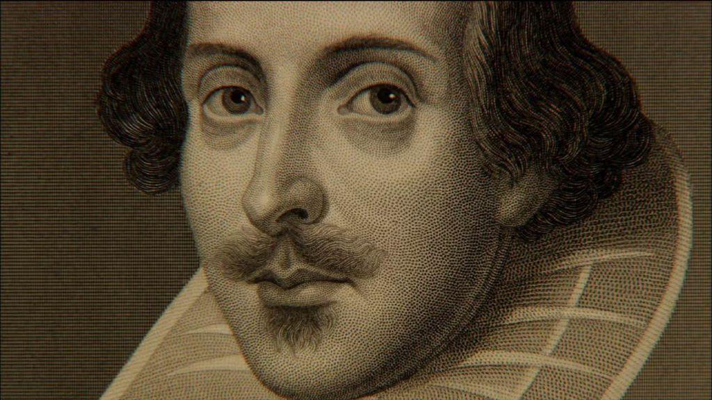 гравюра: гравировка Дрошаут, Мартин: портрет Шекспира