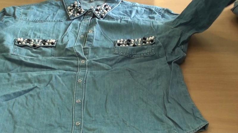 СР36 17 Рубашки джинсовые