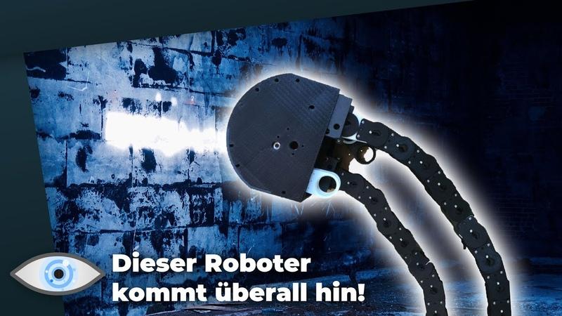 Ist dieser Roboter eine Bedrohung Er kommt überall hin Clixoom Science Fiction