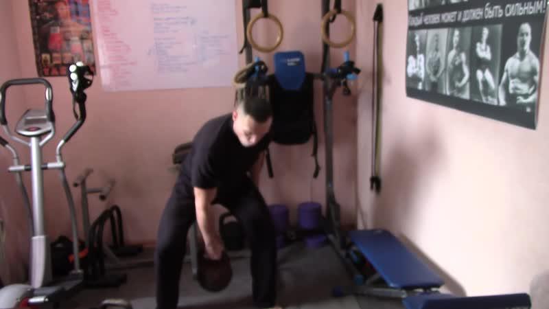 ГИРИ серия 7 ТЯГИ техника и варианты тренировки спины с гирями в домашних условиях ubhb cthbz 7 nzub nt ybrf b dfhbfyns