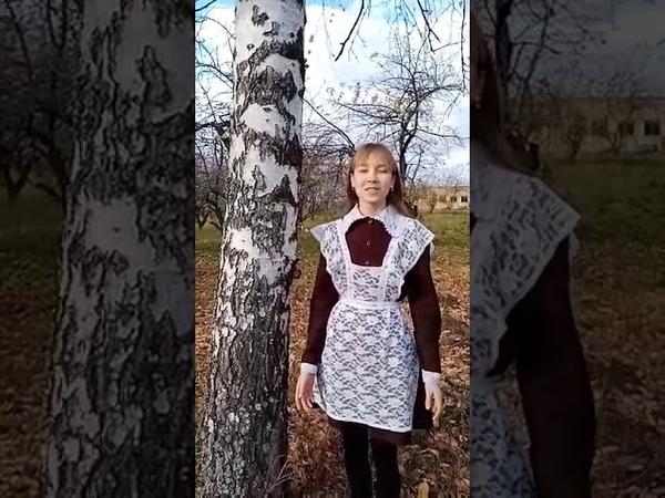 Страна читающая Мария Филиппова читает произведение Отговорила роща золотая С А Есенина