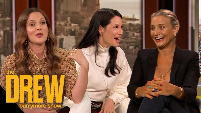 Drew Cameron Diaz and Lucy Liu on Becoming Moms Changing Their Outlook on Life