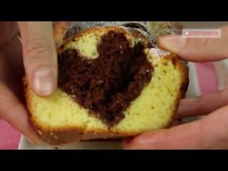 Диво дивное! Нежный, вкусный и оригинальный кекс с шоколадным сюрпризом внутри!