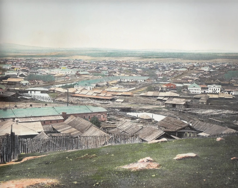 Первозданная железнодорожная Россия в цвете эпохи царской Империи глазами неизвестного фотографа, изображение №5