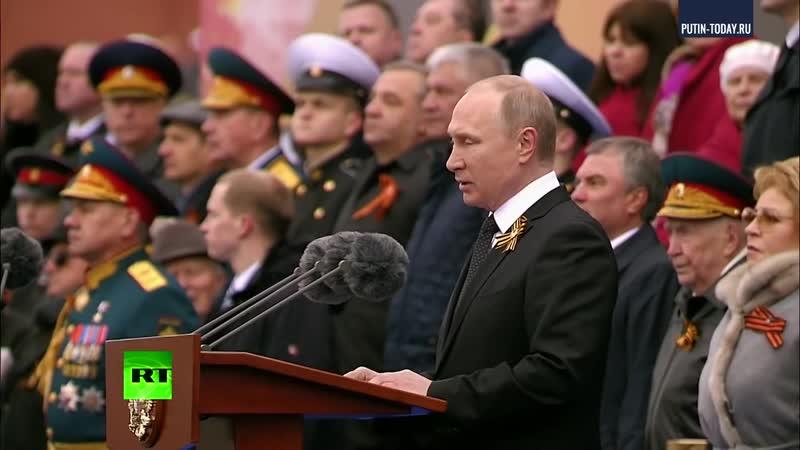 Путин выстрелил из главного калибра