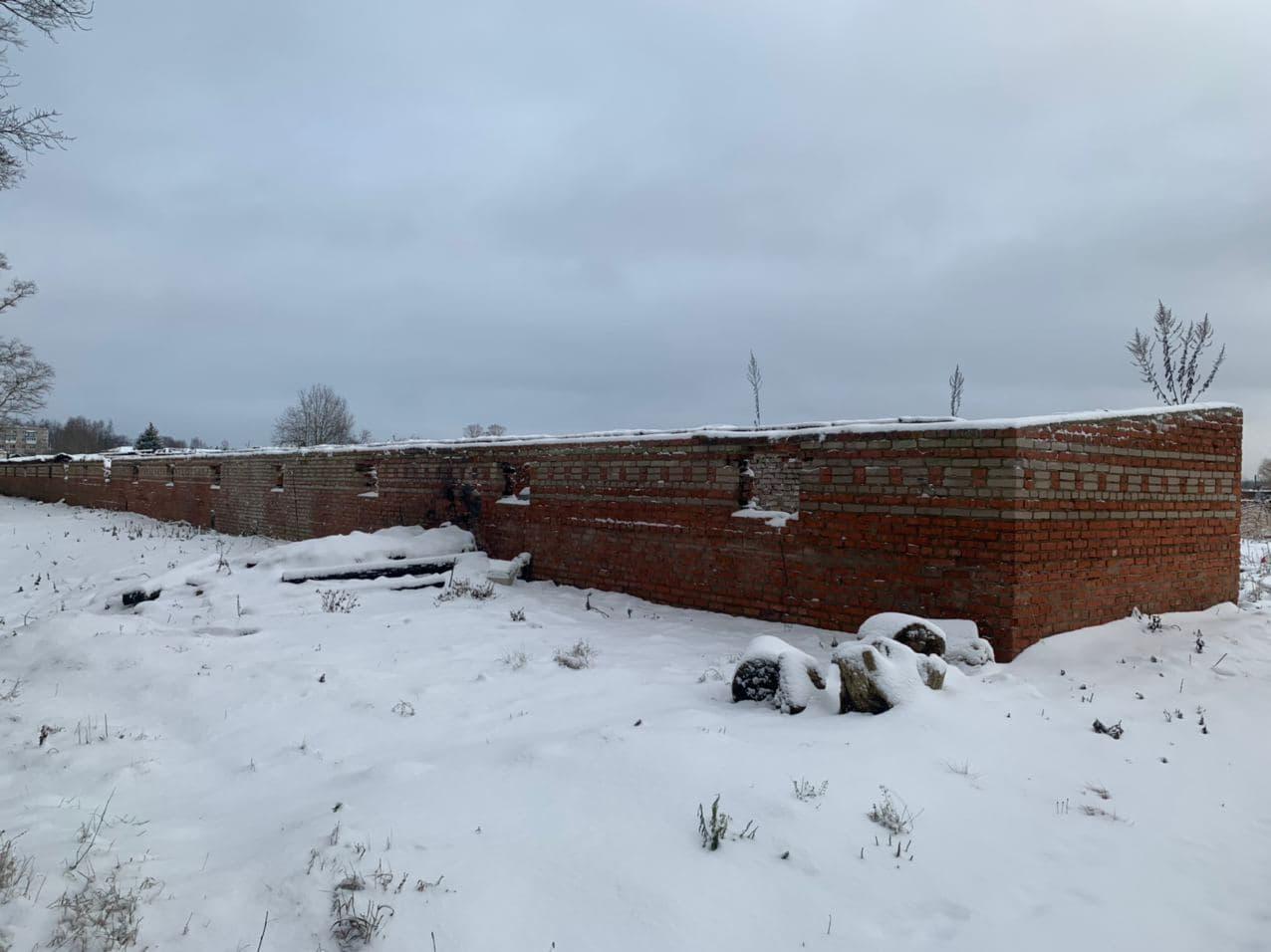 Старые гаражи на въезде в Талдом планируется демонтировать