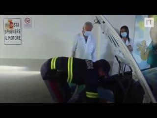 В Италии полиция задействовала служебный Lamborghini Huracán, чтобы из Падуи доставить почку