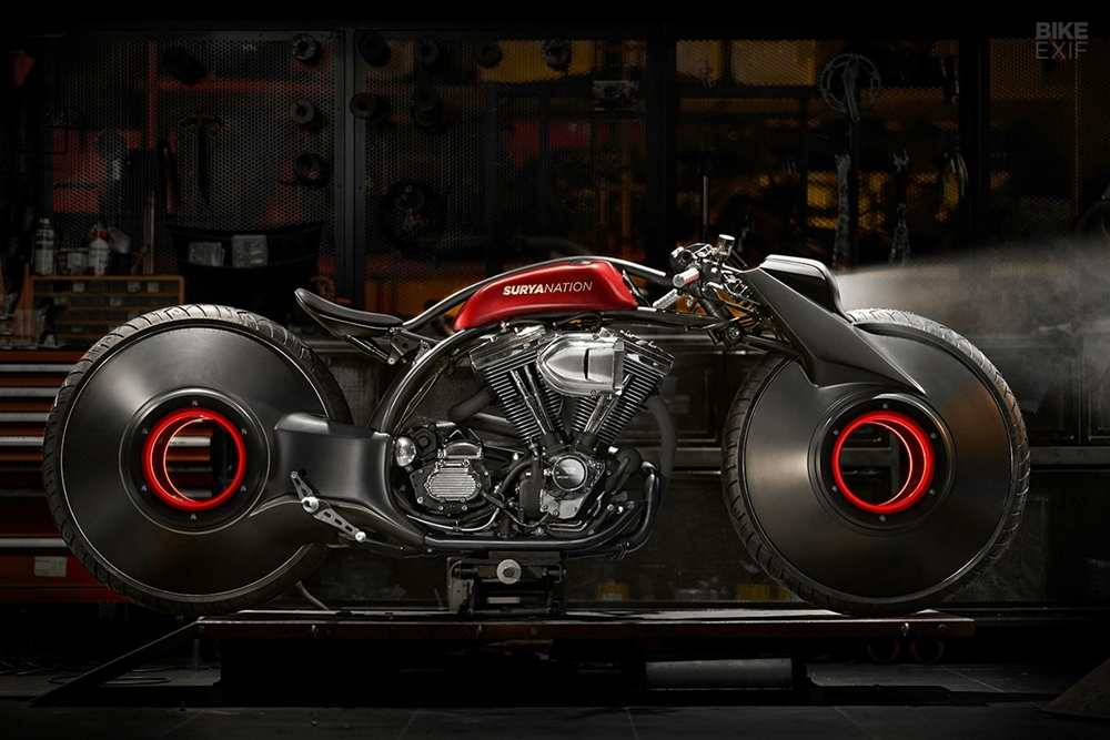 Smoked Garage: нео боард-трекер Harley-Davidson Softail
