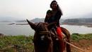 Mom Kid First Time Riding a Horse at Banasura Dam Wayanad