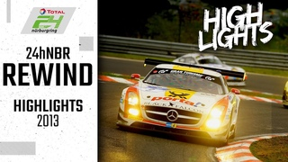 Audi-Sieg zum Jubiläum | 24h-Rennen Nürburgring Rewind | Highlights 2013