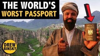 Traveling with the WORLD'S WORST PASSPORT (IRAQ)