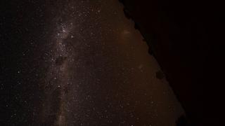 Earth's rotation stabilized on the night sky. NASA APOD 2020-07-01