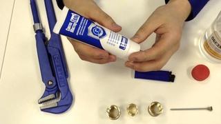 Как герметизировать резьбу анаэробным гелем (видеоинструкция)