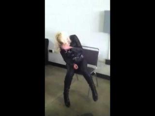 The Jillian Hall/ Tony Atlas incident (WrestleCade 2013)